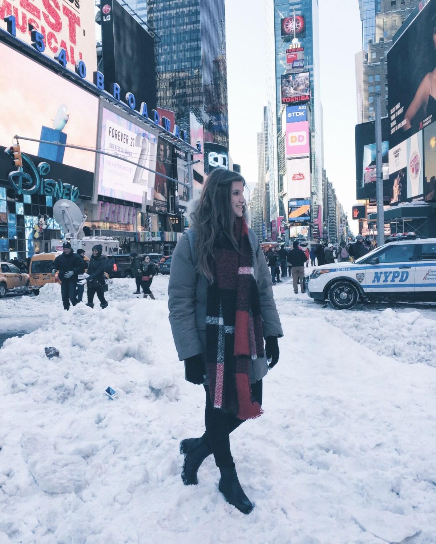 Schnee-new-york