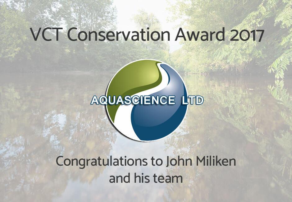 VCT Conservation Award 2017
