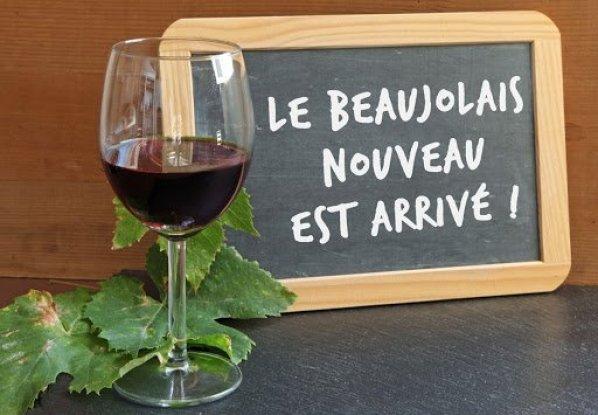 Beaujolais Nouveaus, vino novello in Italia e Francia.