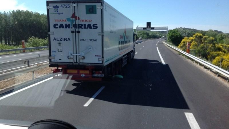 Il lampeggio del camionista…