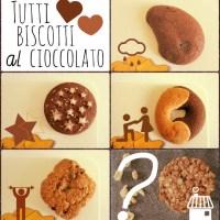 Biscotti al cioccolato, buongiorno assicurato