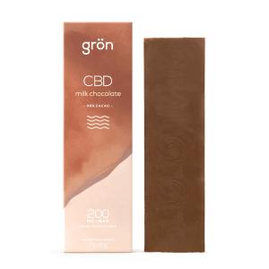 Gron CBD Milk Chocolate Bar