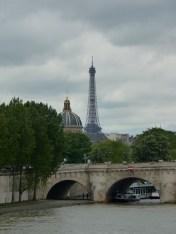 Eiffel Tower and la Seine