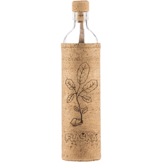 FLASKA NATURAL CORK THE NEW BEGINNING