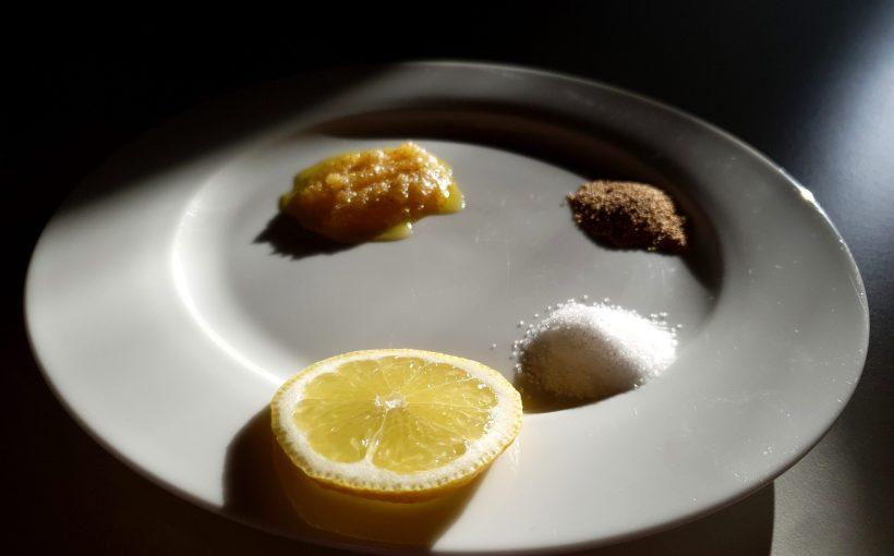 Peeling selber machen - Zuckerpeeling für das Gesicht mit Amarant und Öl