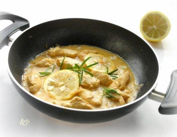 schnelles Abendessen, schnelles Essen, Abendessen Ideen, Abendessen Idee Cremiges Huhn mit Zitrone