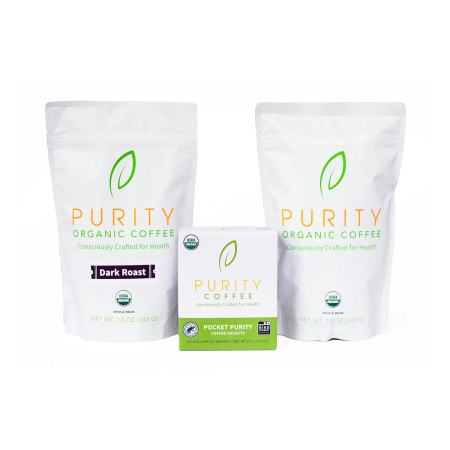 Purity Coffee Starter pack combo image