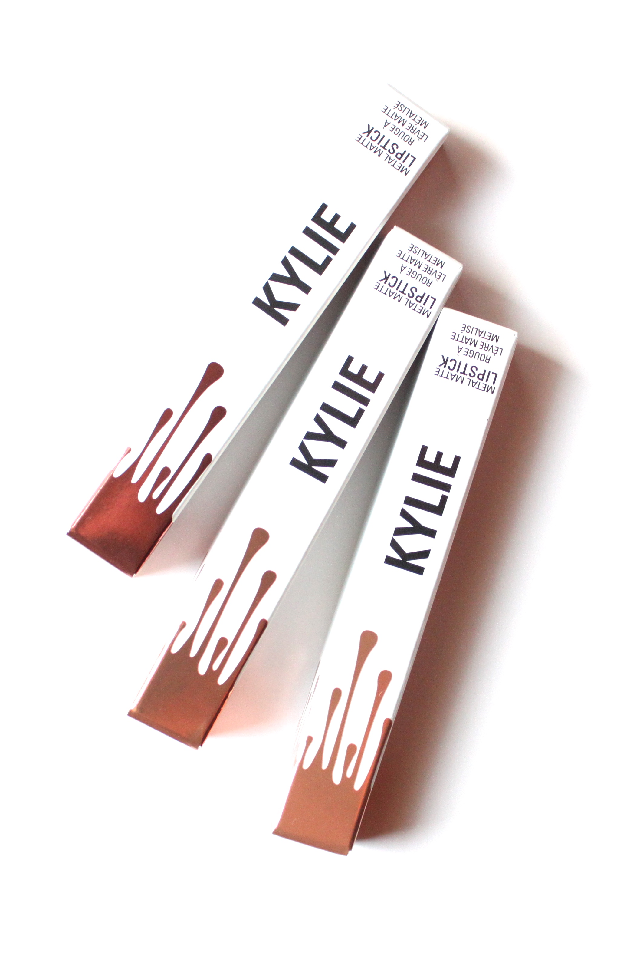 Kylie Cosmetics Metal Mattes | The Lipstick Tales