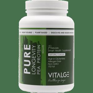 Vitalge Pea Powder Isolate Image
