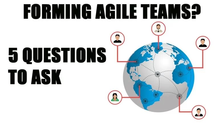 Designing teams as part of your agile transformation plan