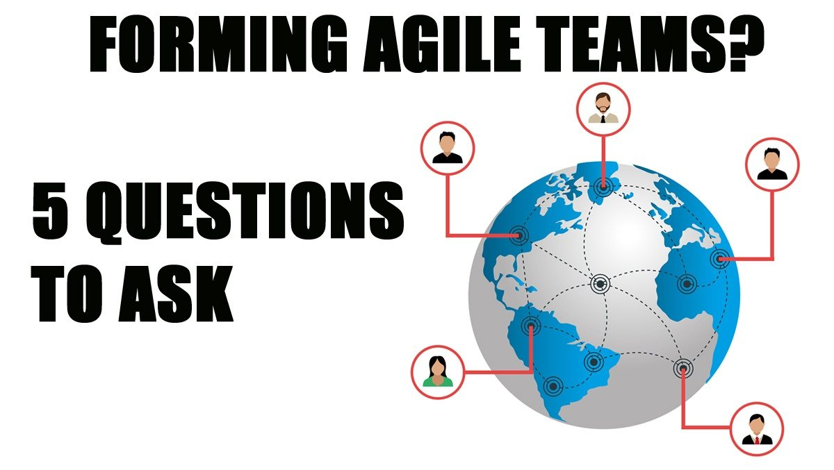 Agile Transformation Plan – Planning Agile Teams