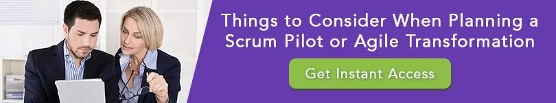 agile planning checklist signup - Things to Consider When Planning a Scrum Pilot or Waterfall to Agile Transformation