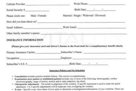 Best Free Fillable Forms » new patient forms | Free Fillable Forms