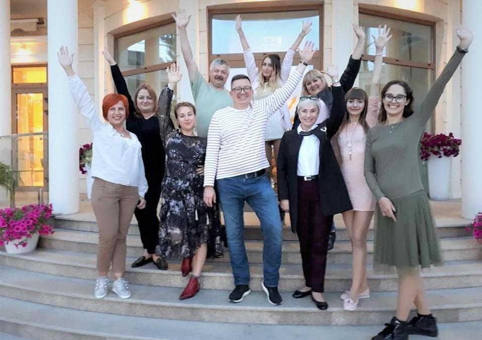3 октября в Одессе завершилась очередная группа 1-й ступени гештальт-программ!)