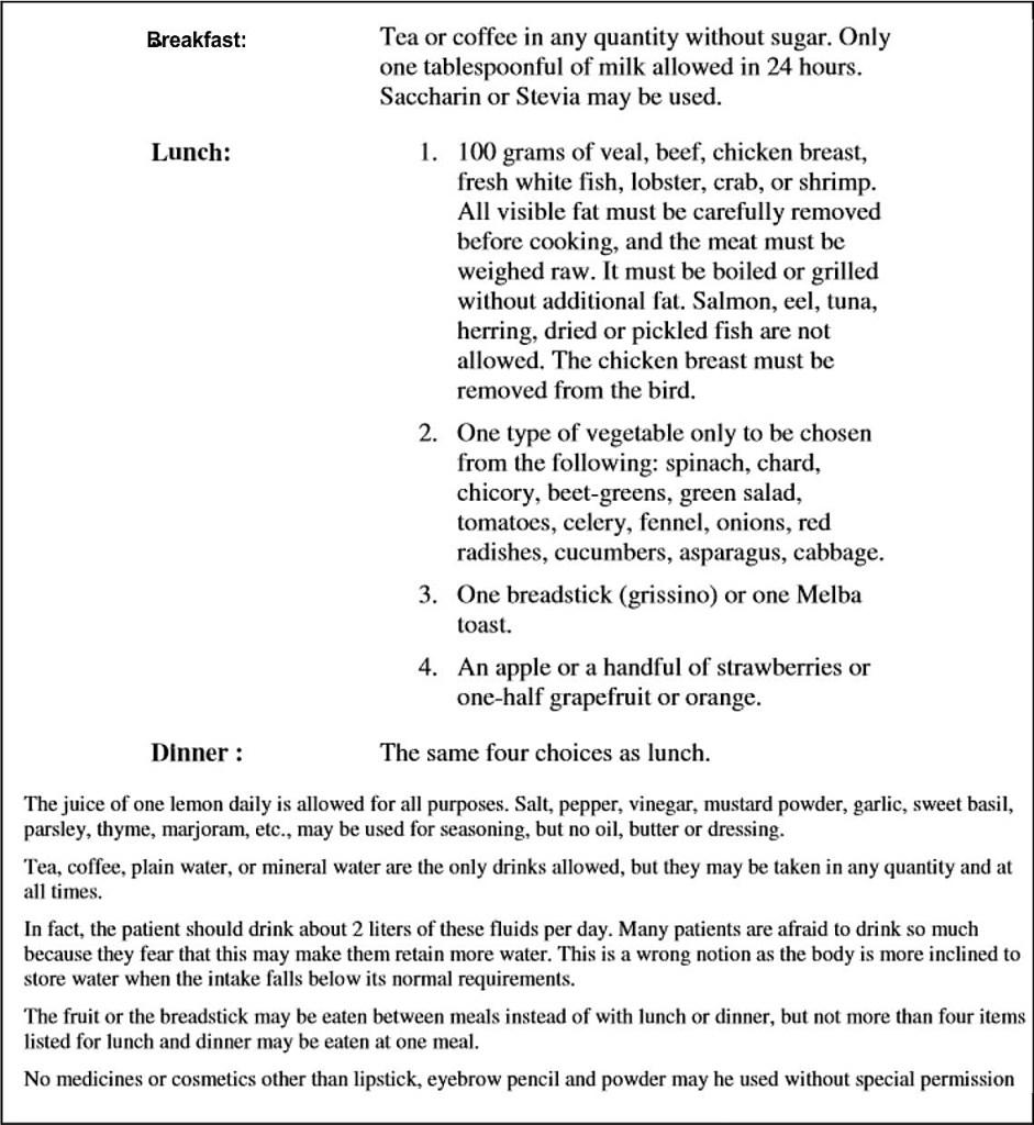 dr simeon hcg diet recipes