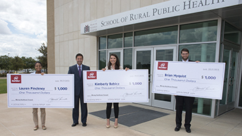 Students receive scholarships from HealthHelp