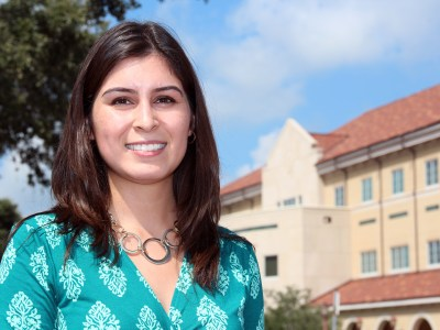 Monica Ayala of Sugar Land, Texas, and second-year professional student pharmacist at the Texas A&M Health Science Center Irma Lerma Rangel College of Pharmacy, received the 2013-2014 Hispanic Scholarship Fund/CVS Caremark Scholarship.