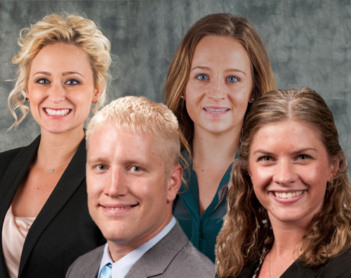 Master of Health Administration students awarded fellowships