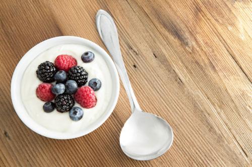 photo of yogurt