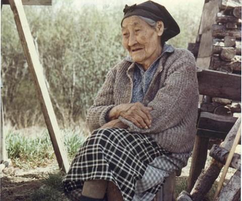 Elder Native Alaskan woman