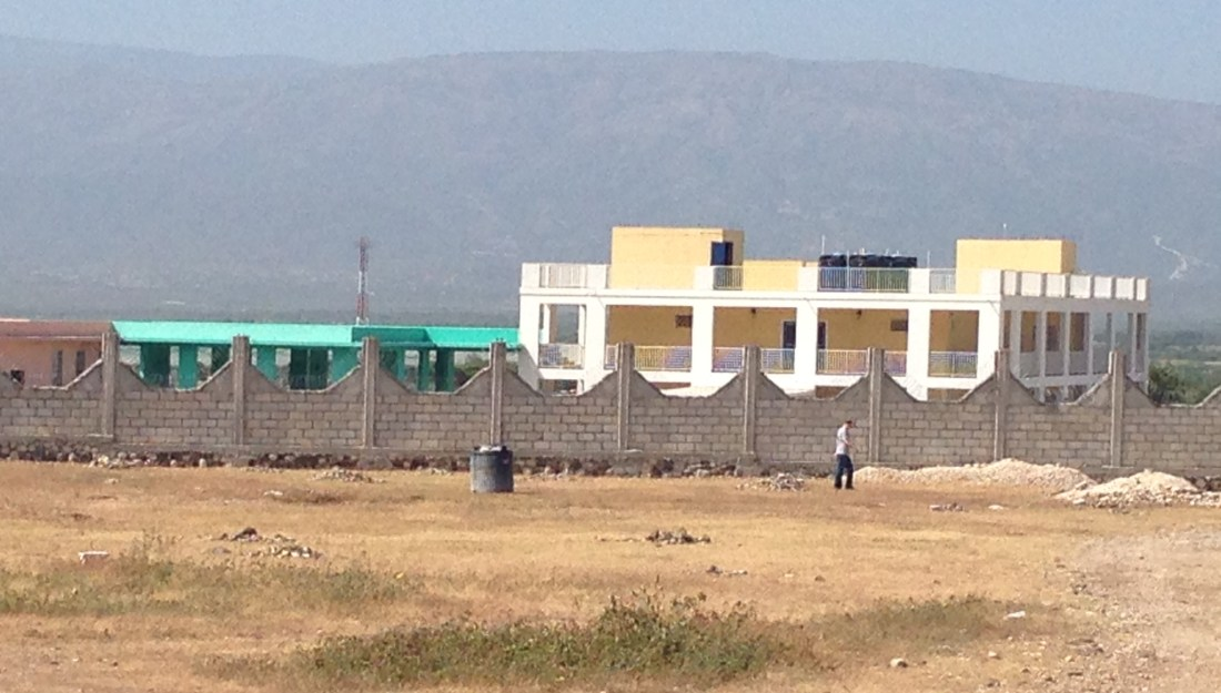 clinic in Haiti