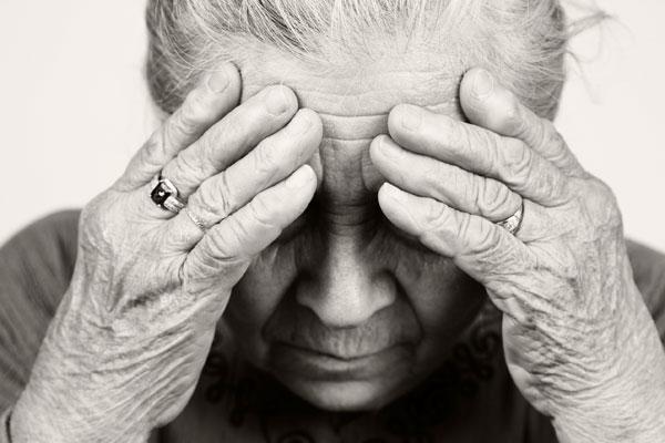 common elderly health issues depression