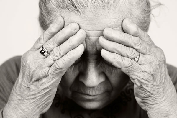 common elderly health issues depression