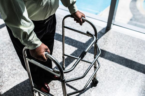 common elderly health issues falling