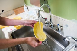 disinfect hospital rooms
