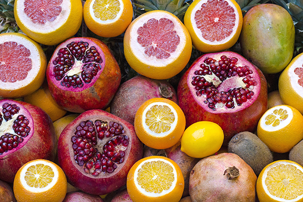 Grapefruits are high on vitamin C, but they can also interfere with some statins and other medications