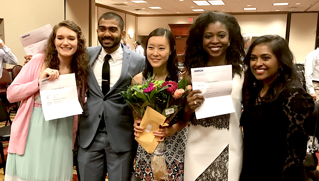 Texas A&M College of Medicine students