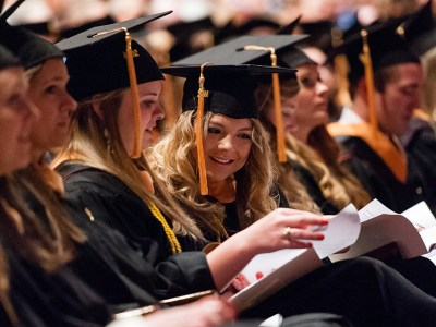 Commencement ceremonies are coming up for TAMHSC students