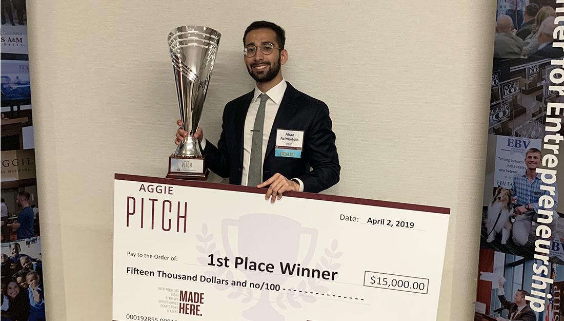 Ahad Azimuddin wins Aggie PITCH competition - Laryngoscopy