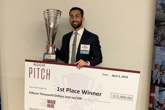 Ahad Azimuddin wins Aggie PITCH competition - Laryngoscopy