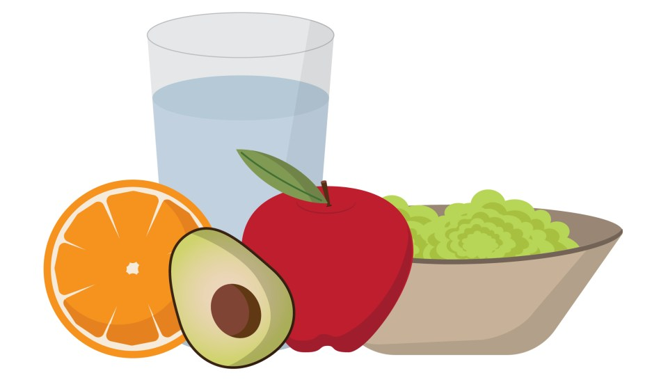 Healthy foods for balanced nutrition