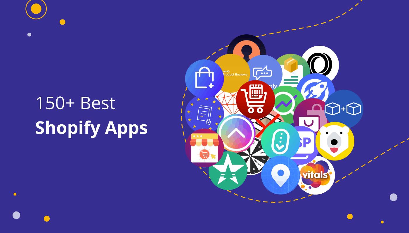 Shopify app - 150 best