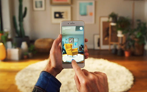 IKEA's Place App uses AR to let you try the furniture in your space before you buy it