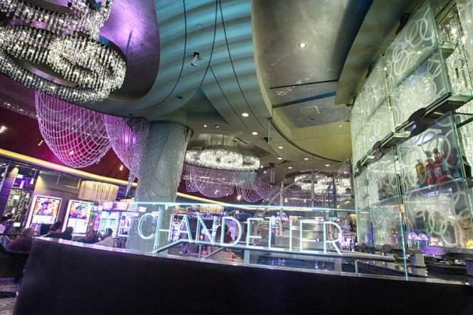 Chandelier Bar