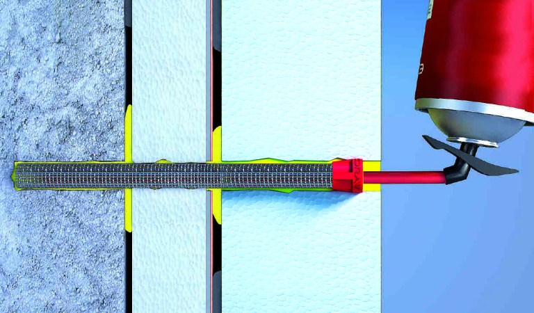 Sistema di isolamento termico a cappotto su sistemi esistenti in EPS