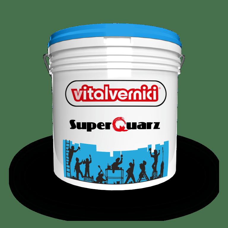 SUPERQUARZ idropittura 100% acrilica al quarzo per esterni ed interni