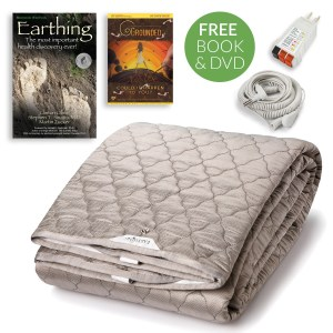 earthing sheets, earthing sleep pad, earthing bed