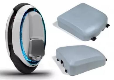 Крышки-накладки от аккумуляторных отсеков Ninebot One