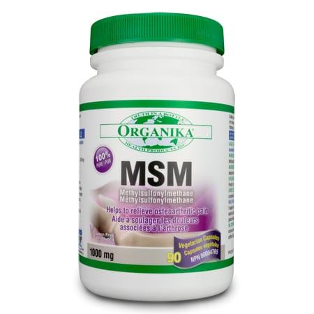 أم أس أم Organika MSM 1000 mg 90 Capsule