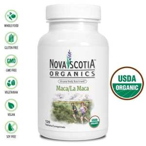 ماكا 1160 ملغم 120 حبةNova Scotia Organics Maca