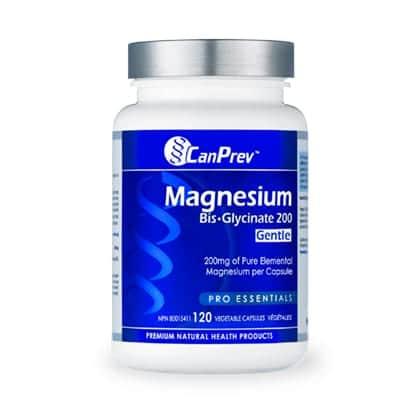 CanPrev Magnesium Bis-Glycinate 200 Gentle 120 Vcap