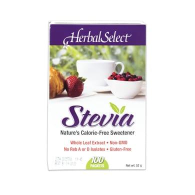 بديل السكر الصحي ستيفيا Herbal select Stevia Extract Packet 0.5g100