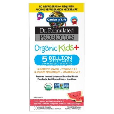 بروبيوتك للأطفال عضوي Garden of Life Dr. Formulated Probiotics Organic Kids