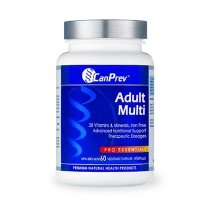 مجموعة الفيتامينات CanPrev Adult Multi 60 Cap