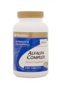 Harga Shaklee Alfalfa Harga Alfalfa Complex Shaklee