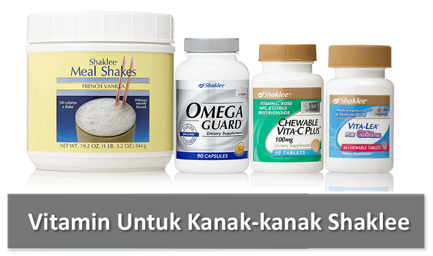 Vitamin Untuk Kanak-Kanak Shaklee Harga